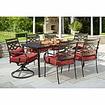 Hampton Bay Middletown 7-Piece Patio Dining Set $300 (50%Off)