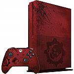 Microsoft Xbox One S Gears of War 4 2TB Bundle $299.99