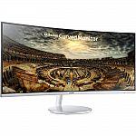 "Samsung 34"" CF791 3440x1440 Curved Ultrawide Monitor $664.99"