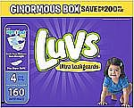 Luvs Ultra Leakguards Diapers (All Sizes) From $15.64