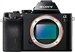 Sony Alpha a7R Mirrorless Camera (Body Only) £899 + £5 shipping ($1,033, Prime required)