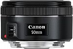 Canon Refurbished Lenses EF 50mm f/1.8 STM $79 and more
