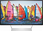 """HP Pavilion 32"""" LED QHD (2560 x 1440) Monitor (Factory Reconditioned) $170"""