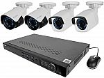 LaView 4MP HD 8 Channel Security System w/ 2pcs 4 MP + 2pcs 2 MP Bullet Camera $330