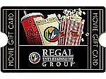 $50 Regal Gift Card $40