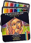 48-Count Prismacolor Premier Soft Core Colored Pencils $14.98 & More