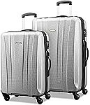 "Samsonite Pulse Dlx Lightweight 2 Piece Hardside Set (20""/28"") $130"