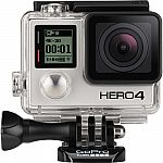 GoPro HERO4 Black w/ LCD Touch BacPac and Batteries Bundle $300
