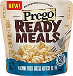 6-Pack Prego Ready Meal, Creamy Three Cheese $7