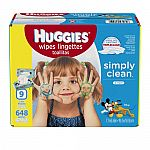 25% Off With Purchase of 2 or More Huggies Diapers / Wipes