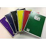 70ct Wirebound Notebook $0.25