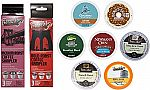K-Cups Coffee Sample Box (7 or more items) $8 + $7.99 Credit
