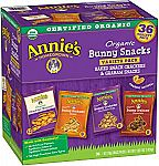 36-Ct. Annie's Organic Variety Snack Packs $7.59