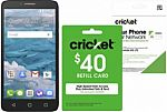 Extra 20% Off Any Cricket Refill Card with purchase of Cricket prepaid phone or SIM kit