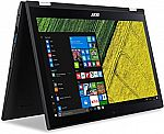 """15.6"""" Acer Spin 3 FHD Touch (i3, 6GB DDR4, 1TB HDD, Win-10) $350"""