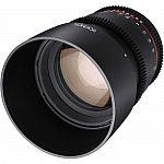 Rokinon 85mm T1.5 Cine Lens (Sony E Mount or Canon EF) $299 (orig. $400)