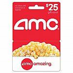 $25 AMC Gift Card - $19