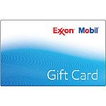 $100 ExxonMobil Gas Gift Card $93 and more