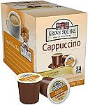 24-Count Grove Square Cappuccino K-Cups (Caramel) $2.54
