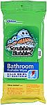 28-count Scrubbing Bubbles Antibacterial Bathroom Flushable Wipes $2.38