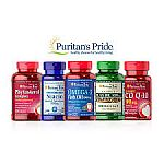 Puritans Pride - Buy 2 Get 4 Free +  Extra 20% Off