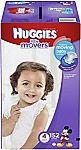 152-Ct. Size 4 HUGGIES Little Movers Diapers $23.36 ($.15/Ct) or Less