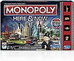 Monopoly Here & Now Game Board Game $4