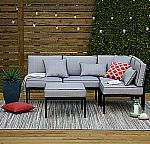 Outdoor Oasis Palm Beach 4pc Sectional $290 (75% off)