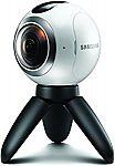 Samsung Gear 360 Real 360° High Resolution VR Camera $110