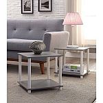 Set of 2 Mainstays Cube Storage End Tables $10 (org $19.99)