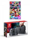 Nintendo Switch Console with Joy-Con Zelda, Mario Kart, or Splatoon Bundle $360