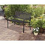 Mainstays Slat Garden Bench $64.21