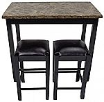 """Pearington 36""""H X 42""""W 3 Piece Tavern/Counter Height Table $77"""