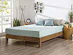 Zinus 12 Inch Deluxe Wood Platform Bed, No Boxspring Needed from $103