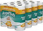 36 Mega Rolls Angel Soft Toilet Paper $14.36