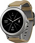 LG Watch Style Smartwatch w/ Android Wear 2.0 & Gorilla Glass 3 -Stainless Steel $108