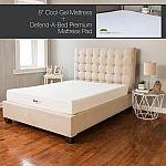 Modern Sleep Cool Gel Ventilated Gel Memory Foam 8-Inch Mattress with BONUS Premium Mattress Pad $205 & More