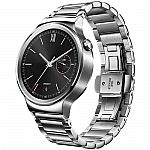 Huawei Watch 42mm Smartwatch (Stainless Steel, Stainless Steel Link Band) $230