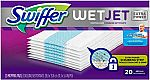 20-Count Swiffer WetJet Extra Power Spray Mop Pad Refill $8.40