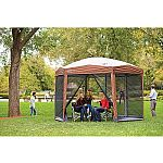 Coleman 12-by-10-foot Hex Instant Screened Canopy/Gazebo $119