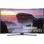 Samsung UN55MU6500 Curved 55-Inch 4K Ultra HD Smart LED TV (2017 Model) $680 (orig. $800)
