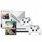 Xbox One S Battlefield 500GB + Wireless Controller + Ghost Recon Wildlands $250