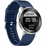 Huawei Fit Sport Watch (Moonlight Silver, Blue Band, Large) $70