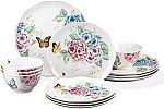 Lenox 12 Piece Butterfly Meadow Hydrangea Set $85 (Org $254)