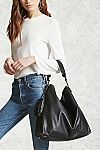 Forever 21 Faux Leather Shoulder Bag $11.39