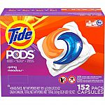 152 Loads Tide Pods + 320-Count Bounce Dryer Sheets $32 + FS