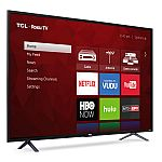 "TCL 55"" Class 4K (2160P) HDR Roku Smart LED TV $398"