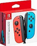 Nintendo Joy-Con (L/R) Wireless Controllers for Nintendo Switch $80