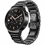 Huawei Watch 42mm Smartwatch (Black/Black) $200