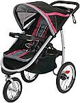 Graco Fastaction Fold Jogger Click Connect Stroller (Azalea) $93.89